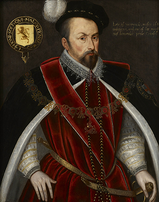 Ambrose Dudley, Earl of Warwick (c.1530-90), late 1590s,  English School